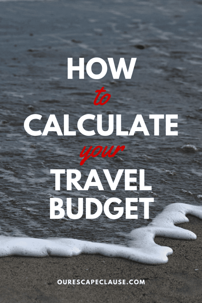 How to Calculate Your Travel Budget
