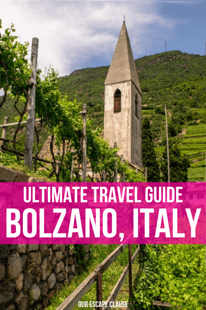 The Best Things to Do in Bolzano, Italy: your ultimate guide to the city! #italy #bolzano #southtyrol #bozen #travel #dolomites