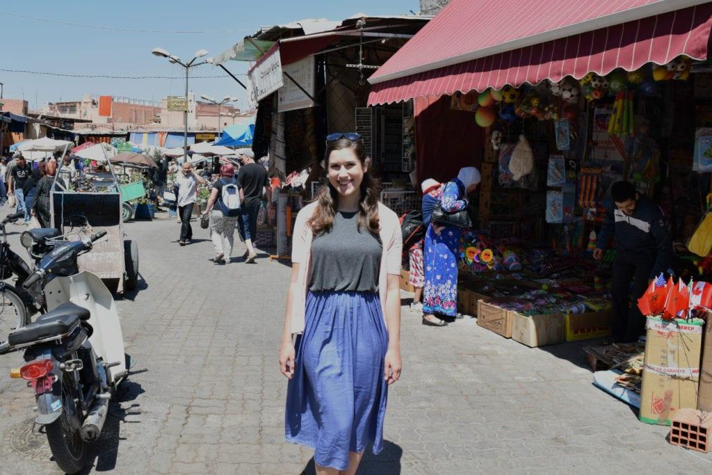Morocco Travel Budget: Marrakech Medina