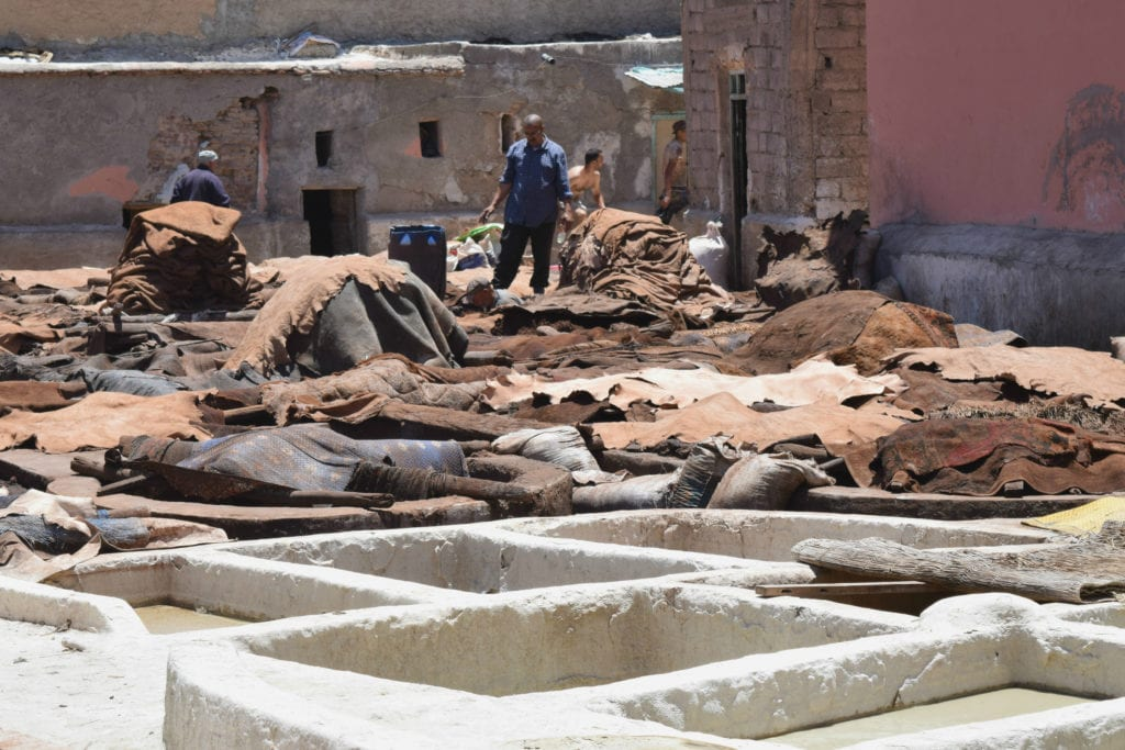 Marrakech Tannery Scam