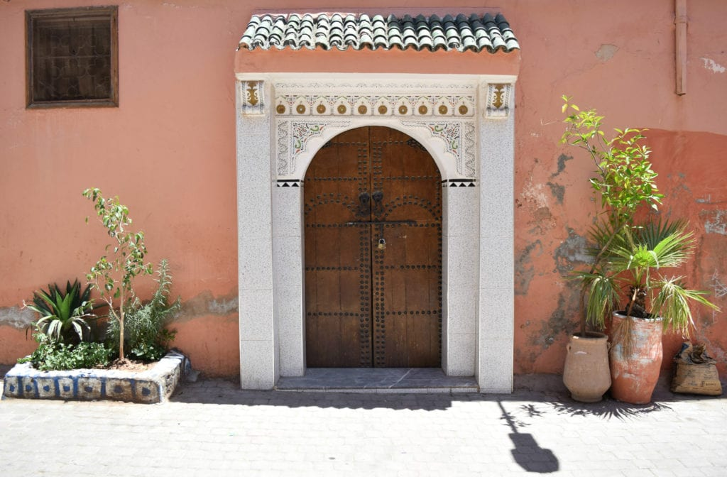 Marrakech, Morocco Door