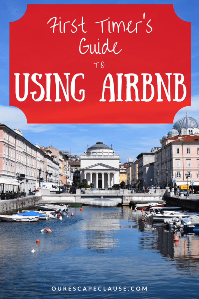 first timers guide to using airbnb for travel
