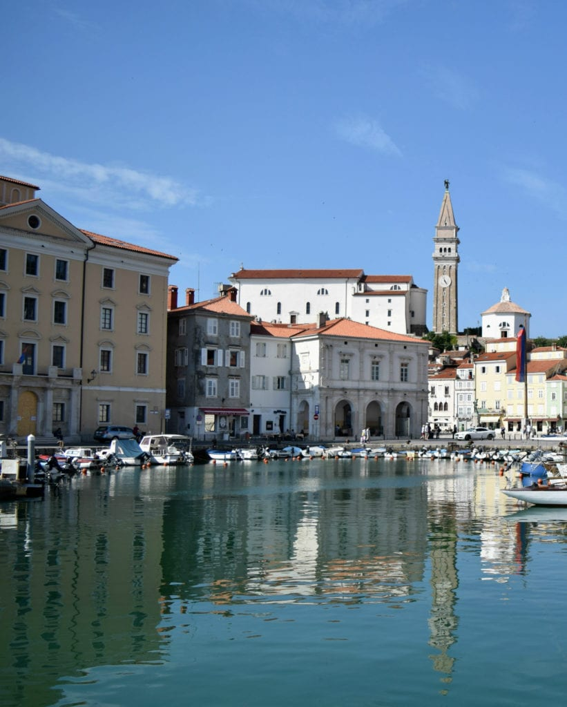 Slovenia Travel Budget: Piran Waterfront