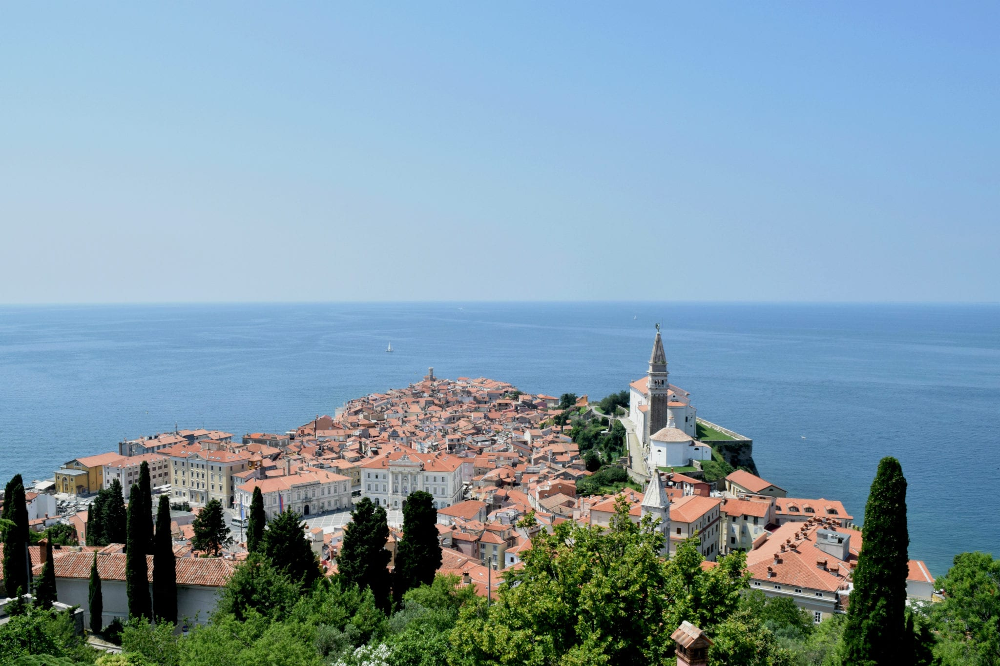 Guide to Visiting Piran: View from Town Walls