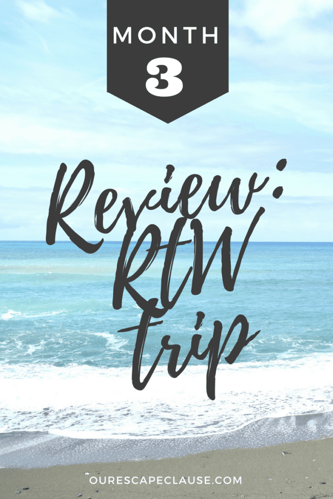 month 3 rtw trip