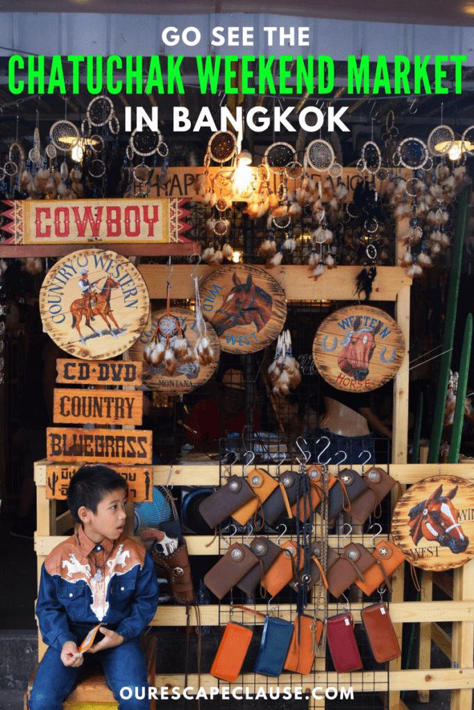 chatuchak weekend market bangkok