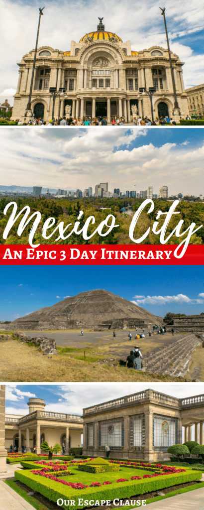 3 Days in Mexico CIty Itinerary