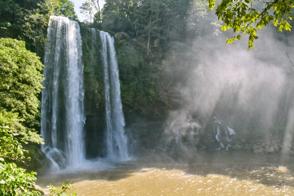 Misol-Ha Waterfall, Chiapas, Mexico