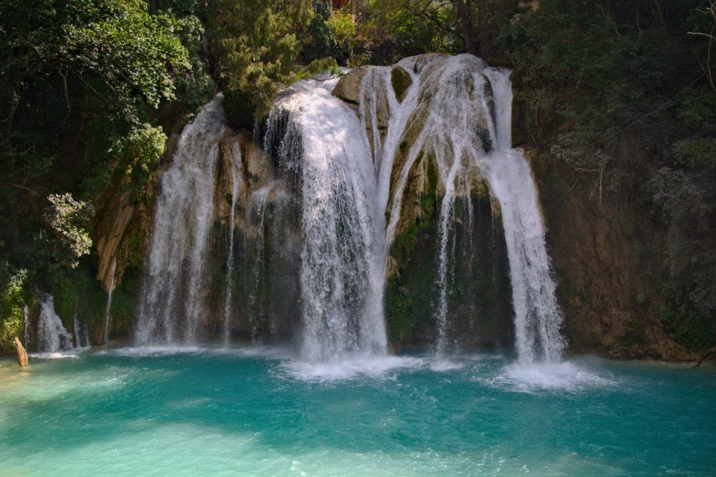 2 Weeks in Mexico Itinerary, El Chiflon, Chiapas