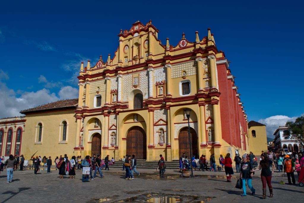2 Weeks in Mexico Backpacking Route: San Cristobal de las Casas