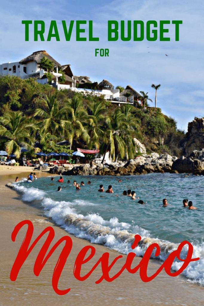 Travel Budget for Mexico