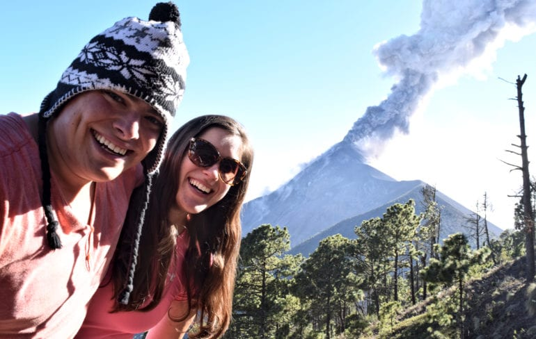 Volcano Acatenango, Guatemala