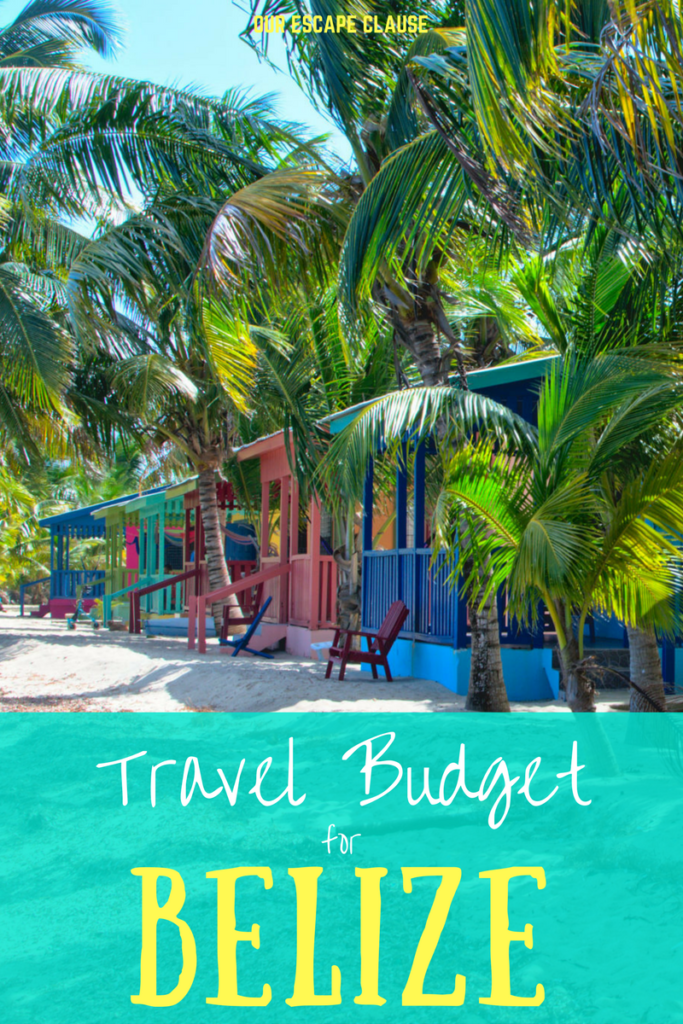 Travel Budget for Belize