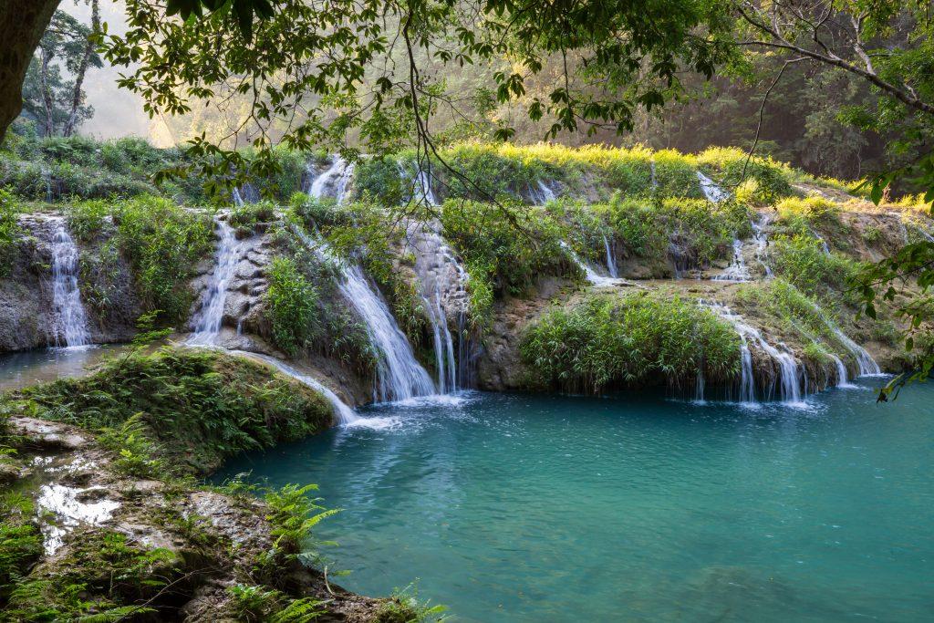 waterfalls of semuc champey guatemala