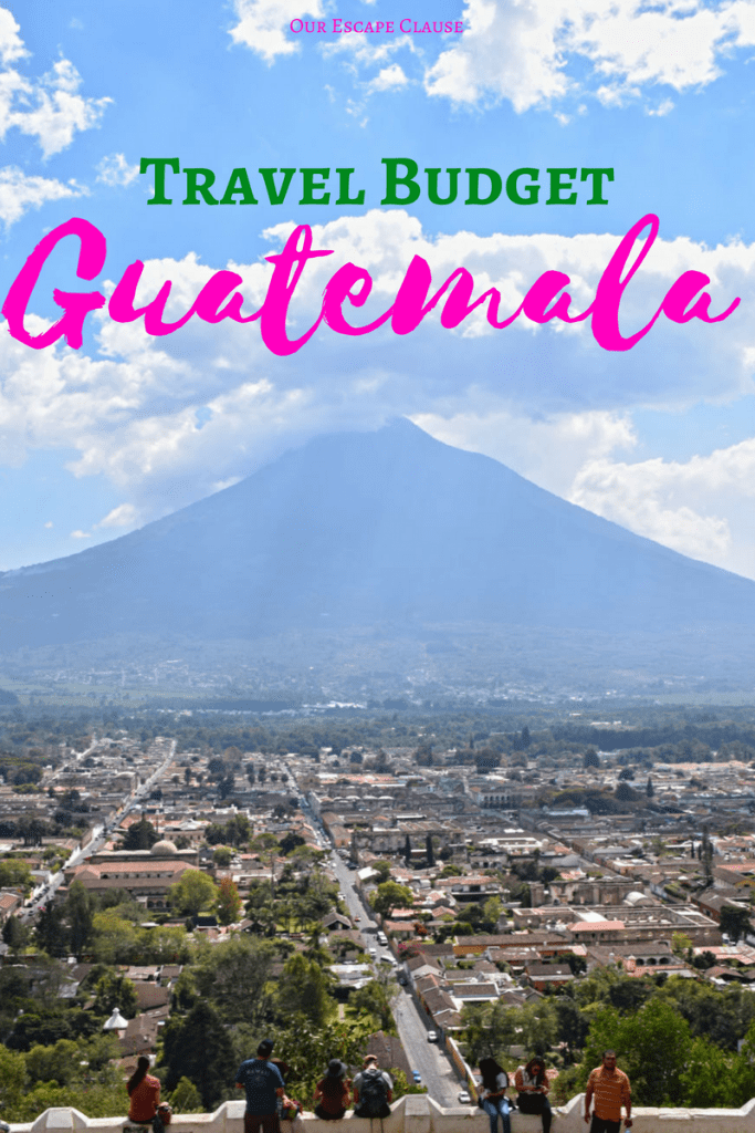 Travel Budget for Guatemala