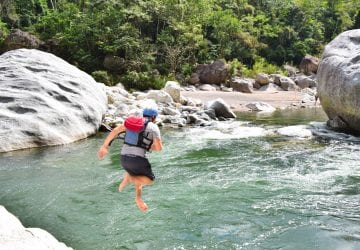 Whitewater Rafting in Honduras