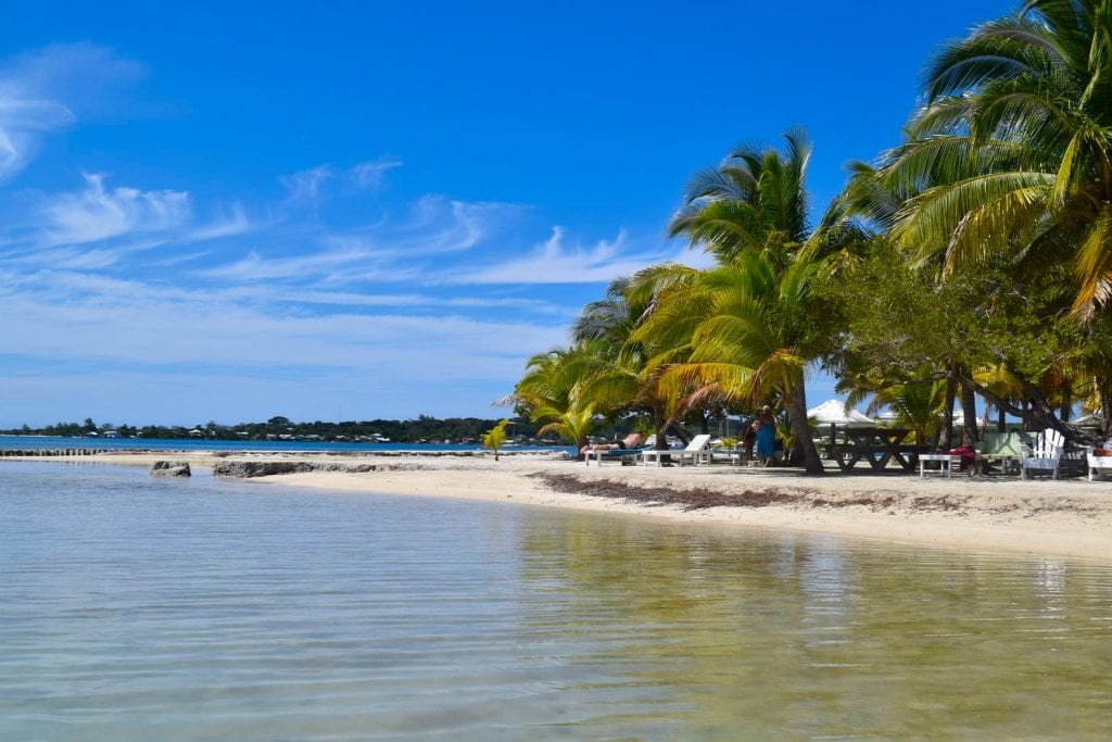 Packing List for Central America and Mexico: Beach on Utila