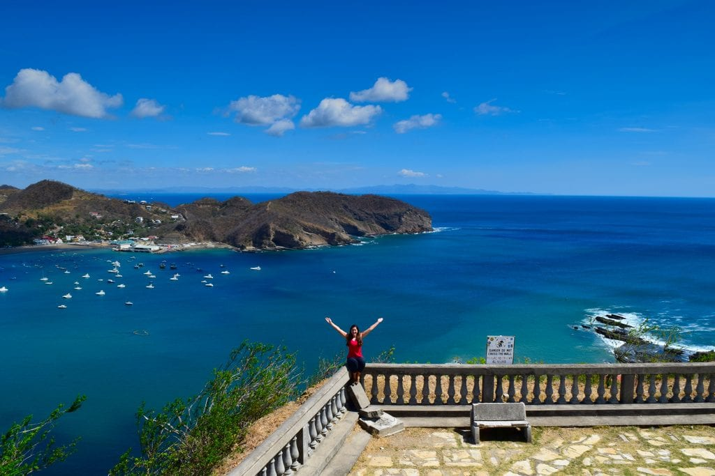 kate storm in san juan del sur on a 6 month round the world trip
