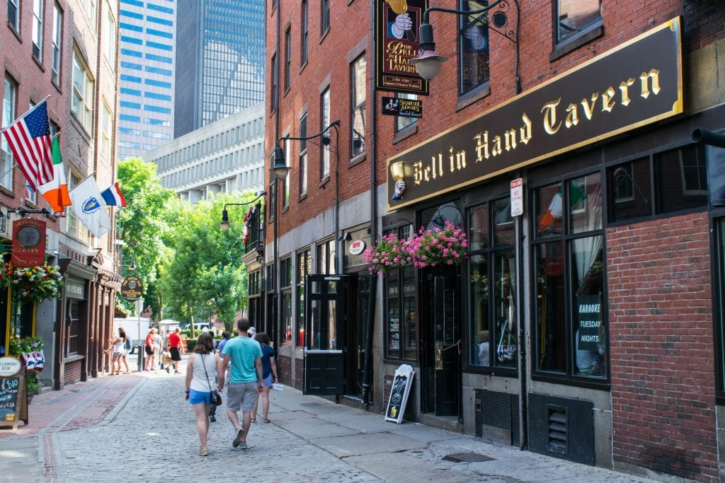2 Days in Boston Itinerary: Bell in Hand Tavern