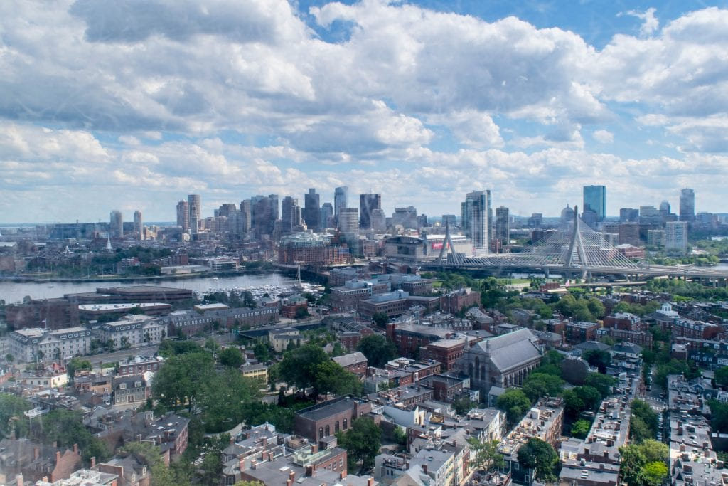 2 Days in Boston Itinerary: Boston Skyline