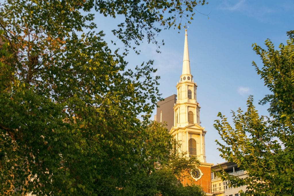 Things to Do in Boston: Park Street Church