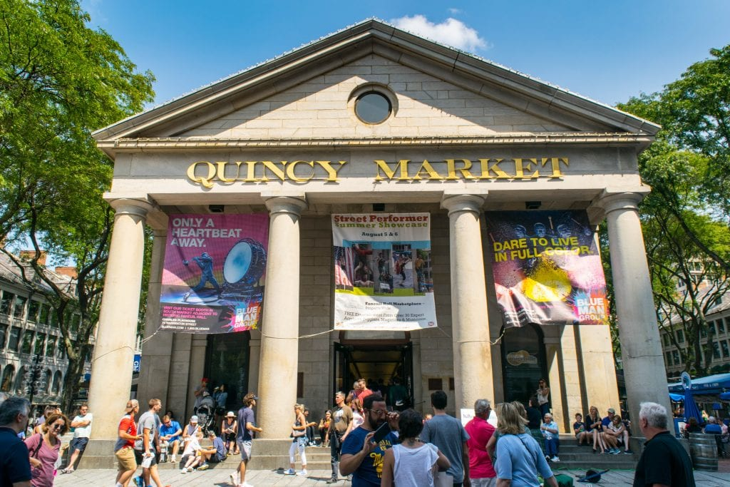 Things to Do in Boston: Quincy Market