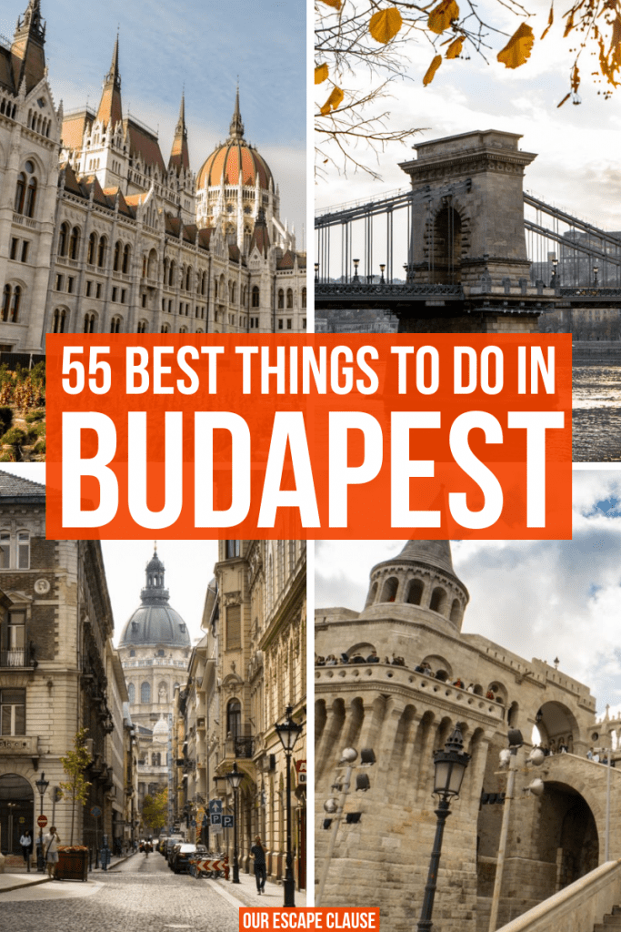 The Ultimate Guide to the Best Things to Do in Budapest: #budapest #hungary #travel