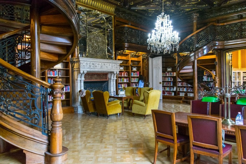 Szabo Ervin Library interior, a must see during a 3 day budapest itinerary
