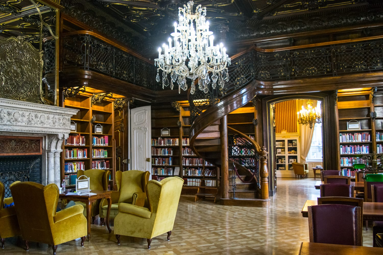 Best Things to Do in Budapest: Szabo Ervin Library