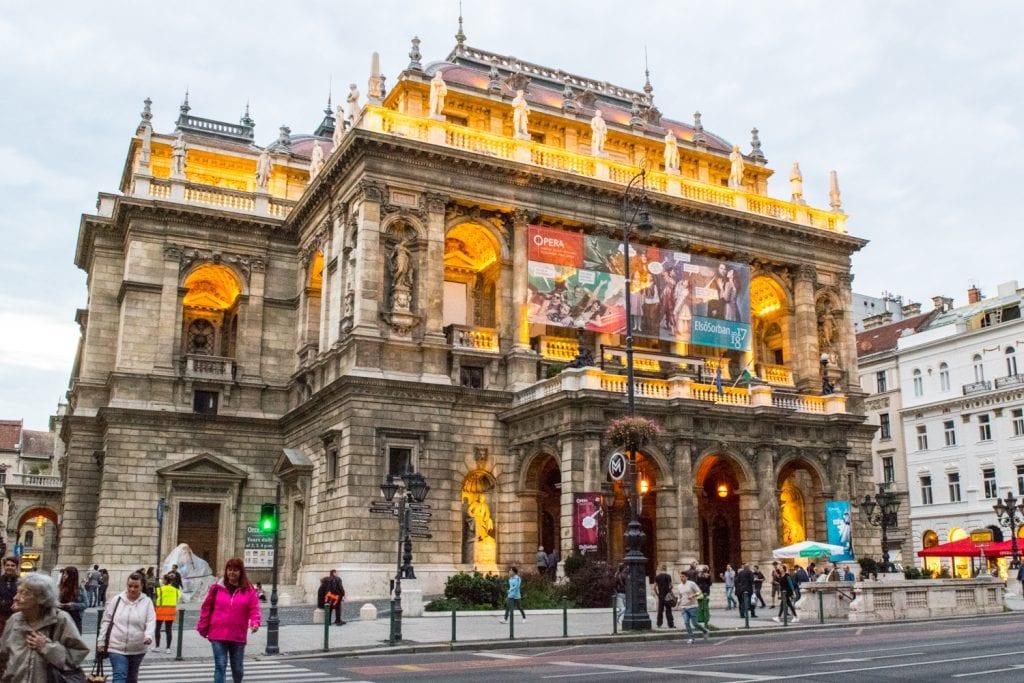 Prague or Budapest: Budapest Opera House