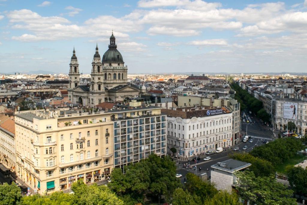 Prague or Budapest: St. Stephen's Basilica
