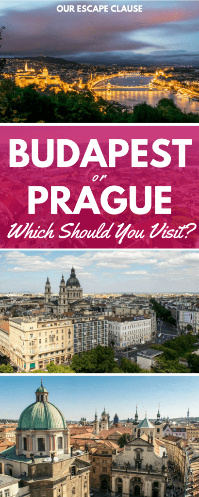Prague or Budapest: Which One Should You Visit