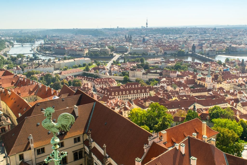 Best Views of Prague: South Tower St. Vitus