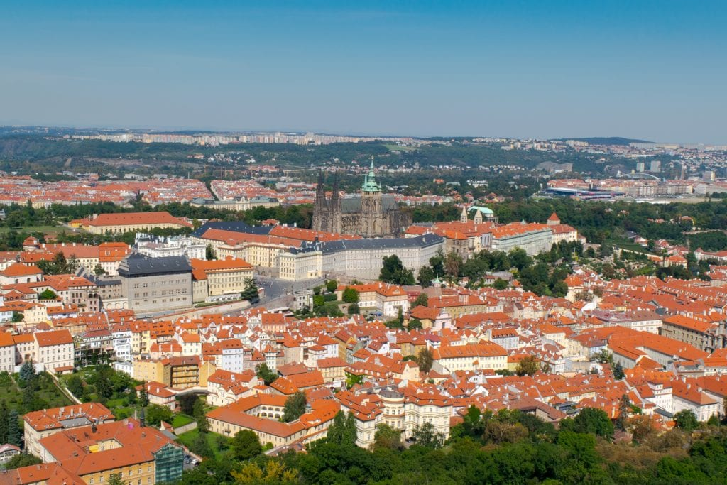 Best Viewpoints to Visit in Prague: Prague Castle Grounds