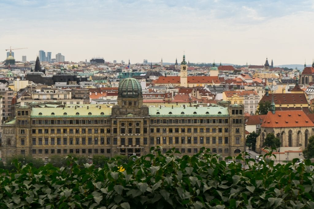 Best Views of Prague: Letna Beer Garden, Beer Garden Prague