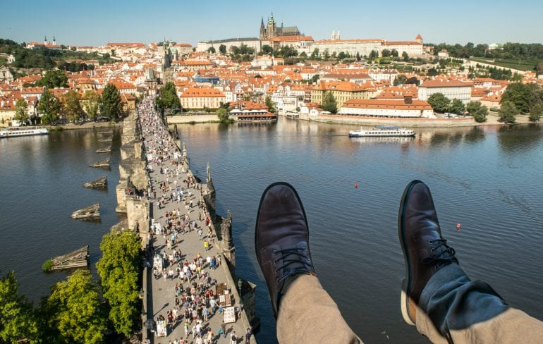 Best Viewpoints in Prague: Old Town Bridge Tower