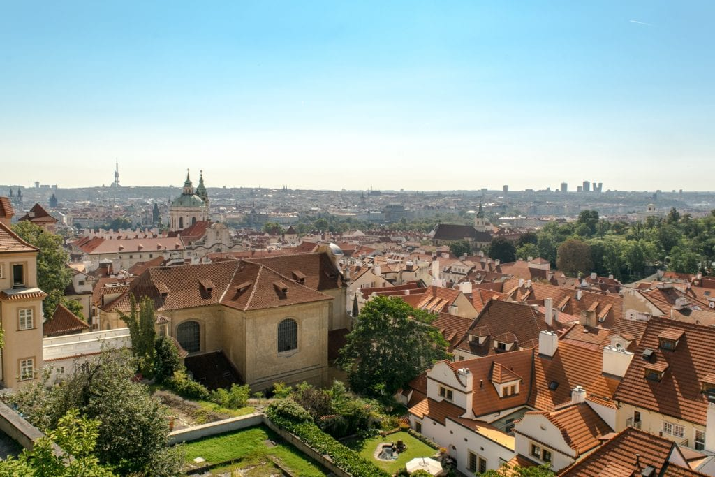 Travel Budget for Prague: View of Prague