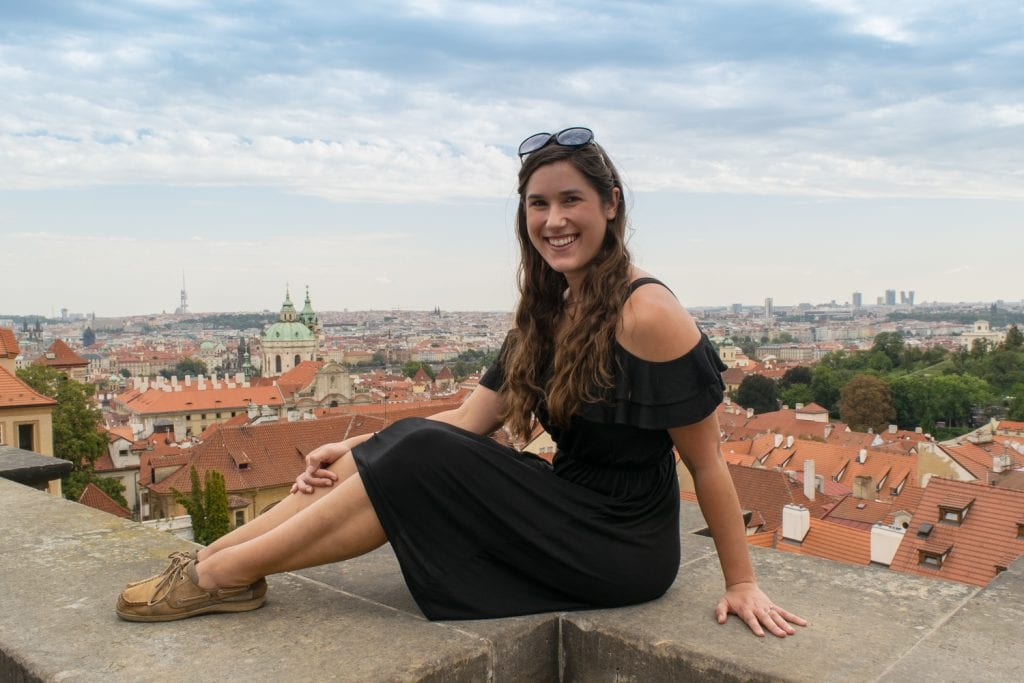 Best Views in Prague: Starbucks Prague Castle
