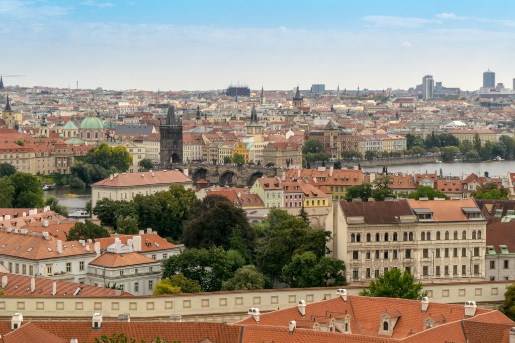Best Views in Prague: Prague Castle