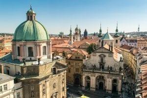 Best Views in Prague: View from Old Tower Bridge