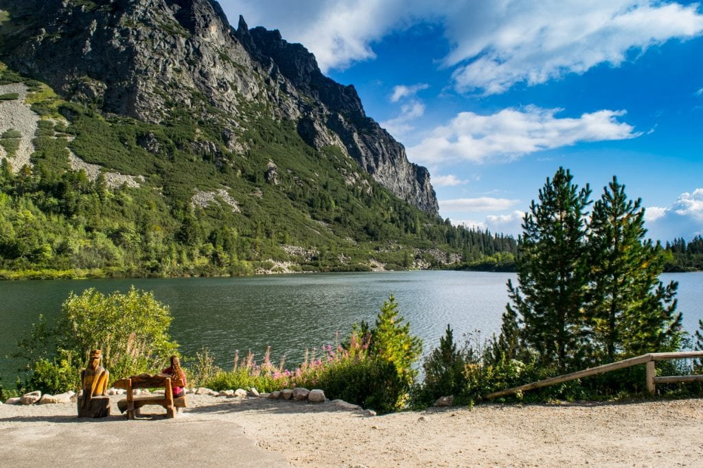 Hiking in the High Tatras of Slovakia: Popradske Pleso