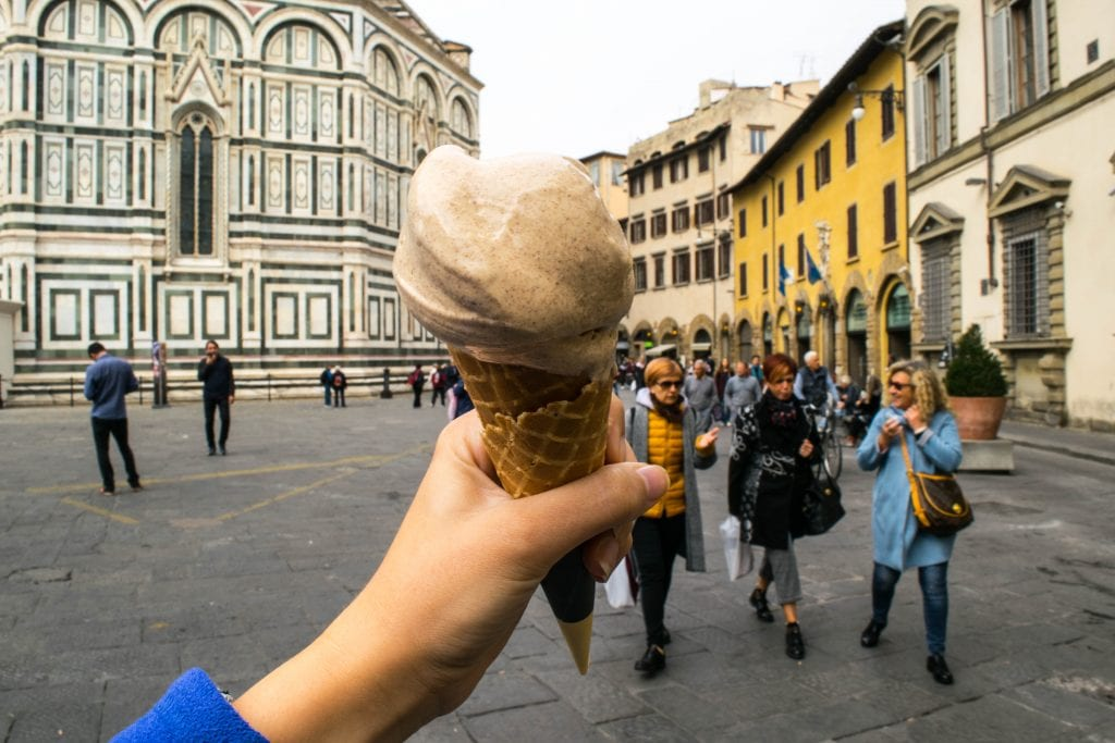 Florence, Italy gelato