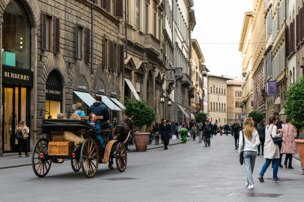 Romantic Things to Do in Tuscany: Horse Drawn Carriage