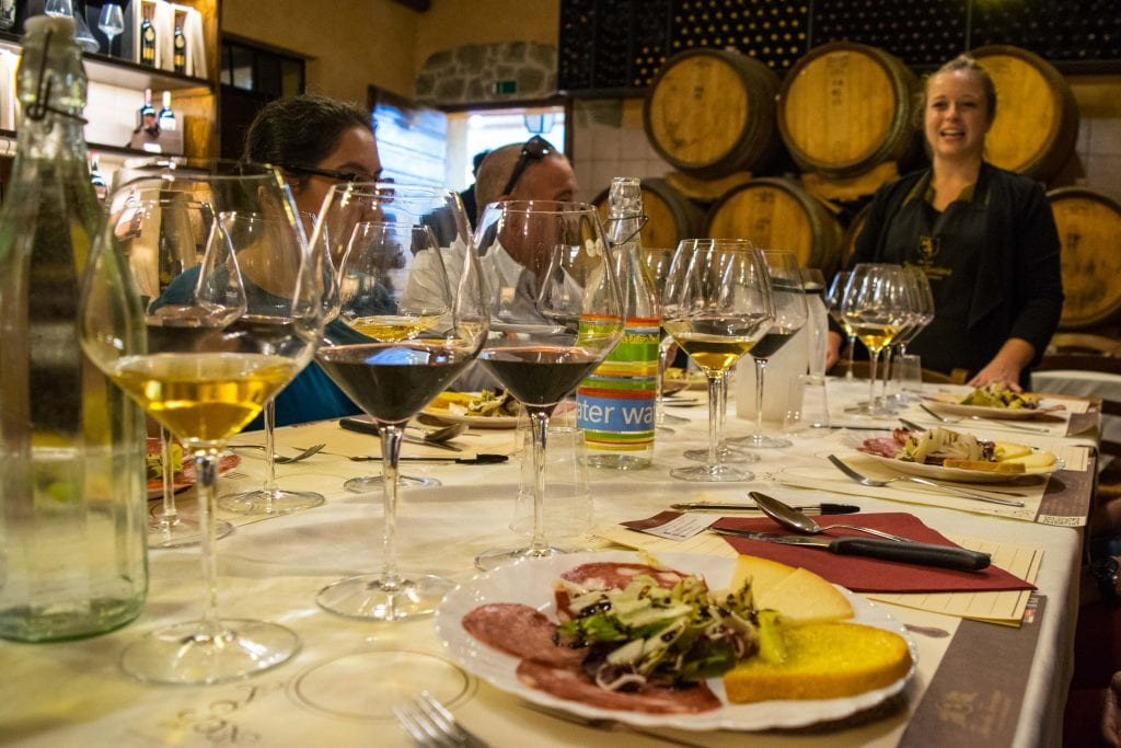 Things to Eat in Florence: Wine Tasting in Tuscany