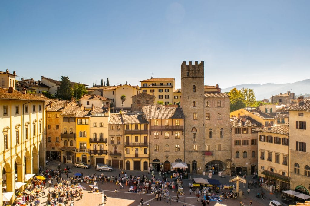 Weekend in Arezzo: Things to Do in Arezzo, Piazza Grande