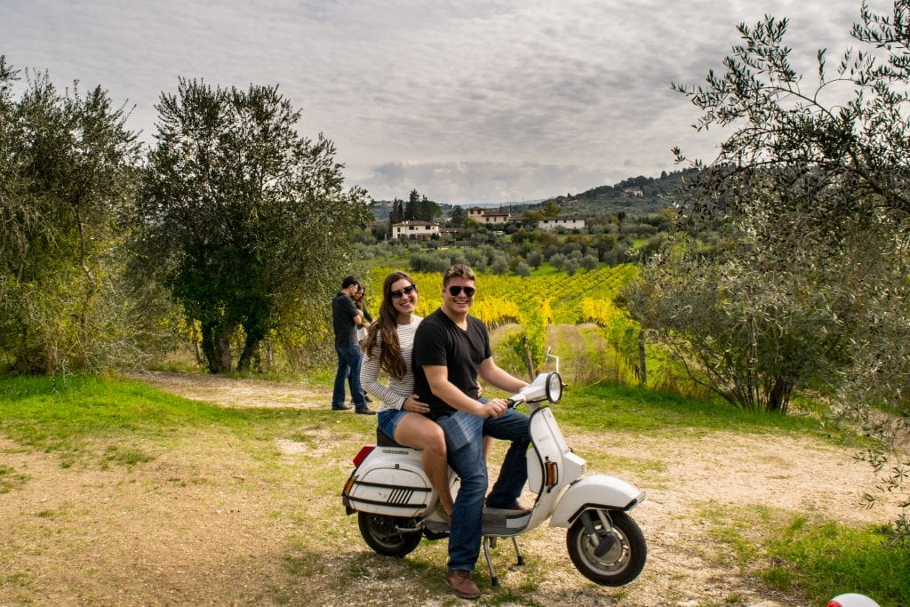 Romantic Things to Do in Tuscany: Riding Vespas