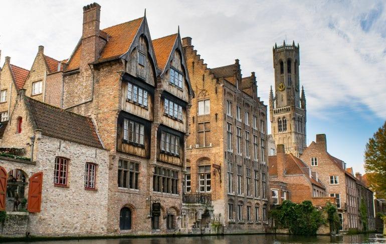 Ghent or Bruges: Bruges Canal Tour