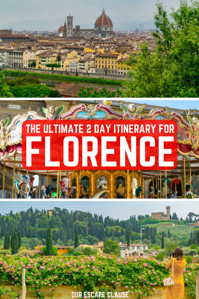 The Perfect 2 Days in Florence Itinerary: #florence #tuscany #italy #travel
