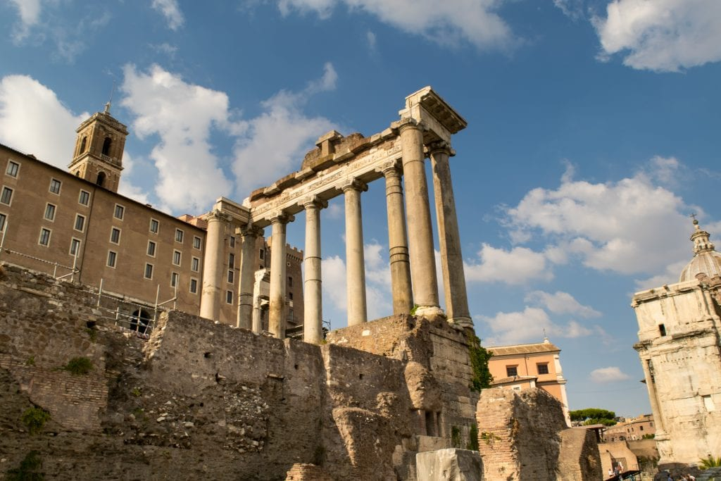 Best quotes about Italy: Roman Forum