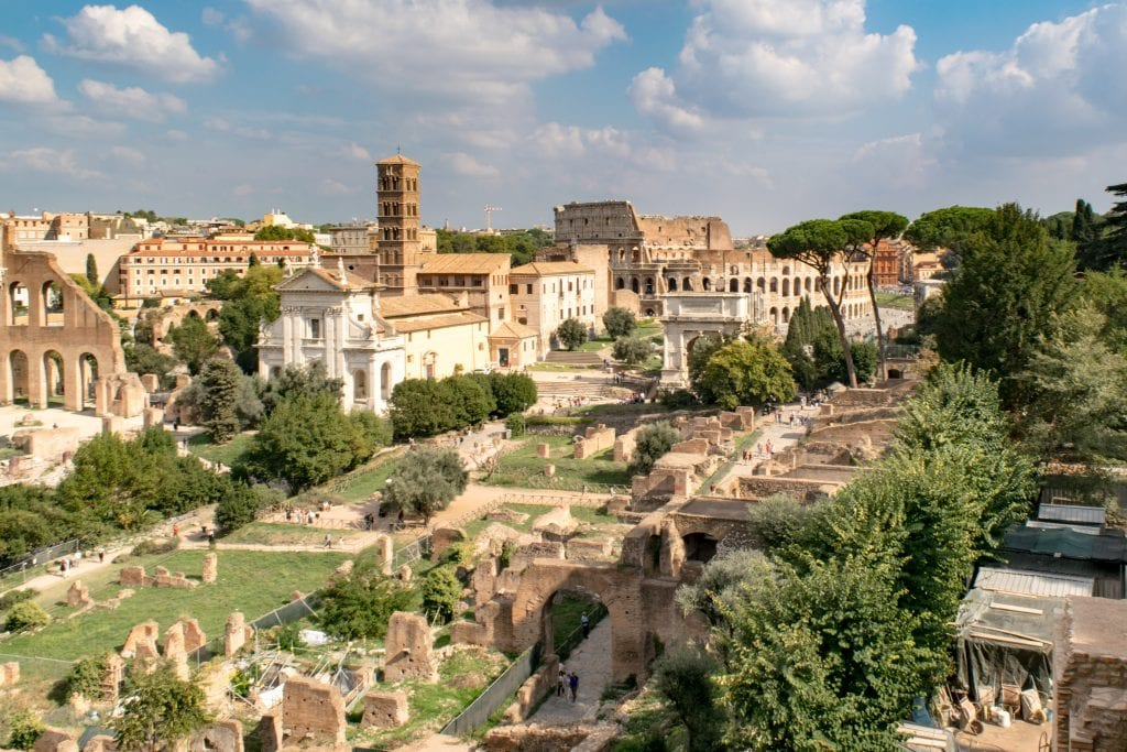 2 Days in Rome: View from Palatine Hill